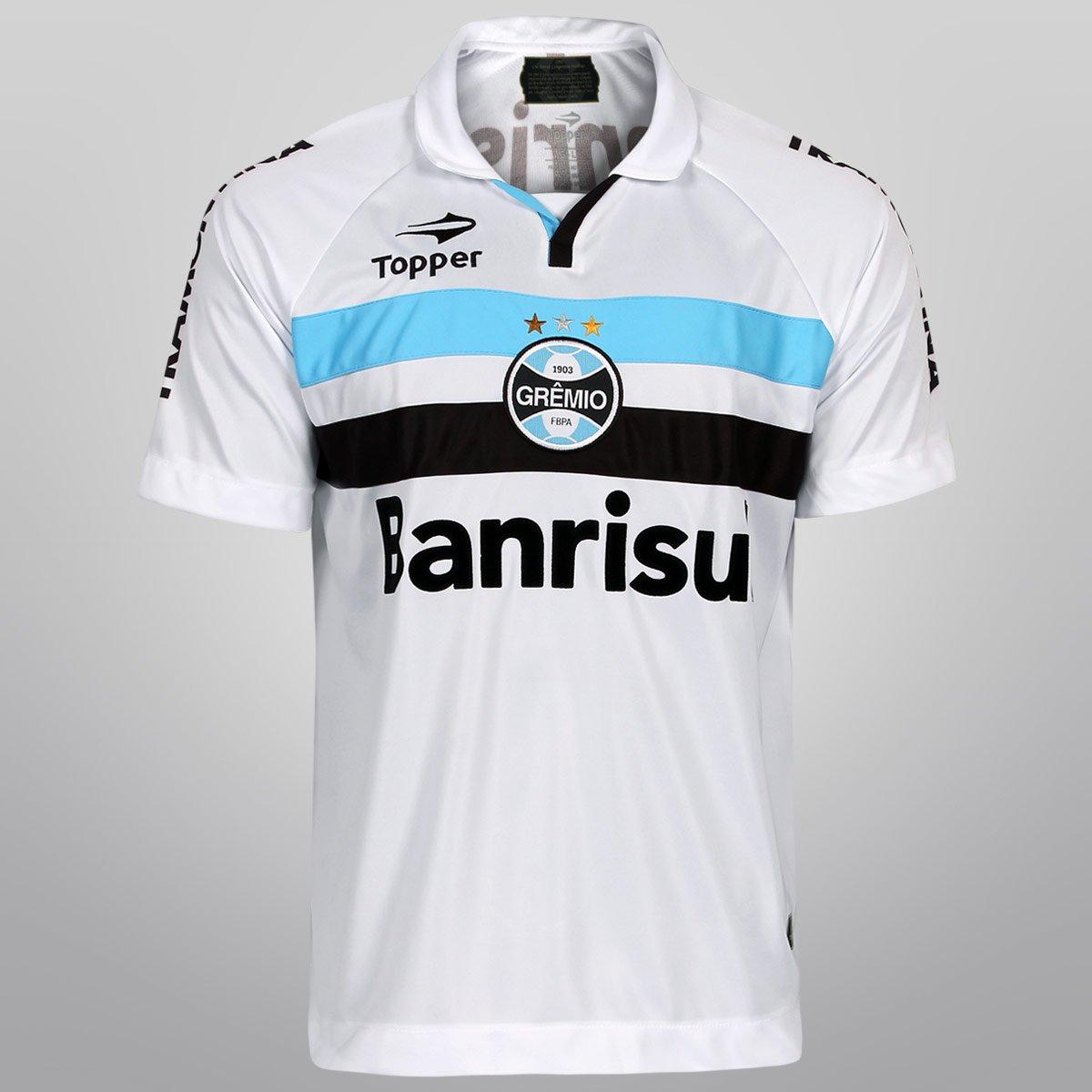 Camisa Topper Grêmio II 12 13 s nº - Compre Agora  3cf9beccb52af