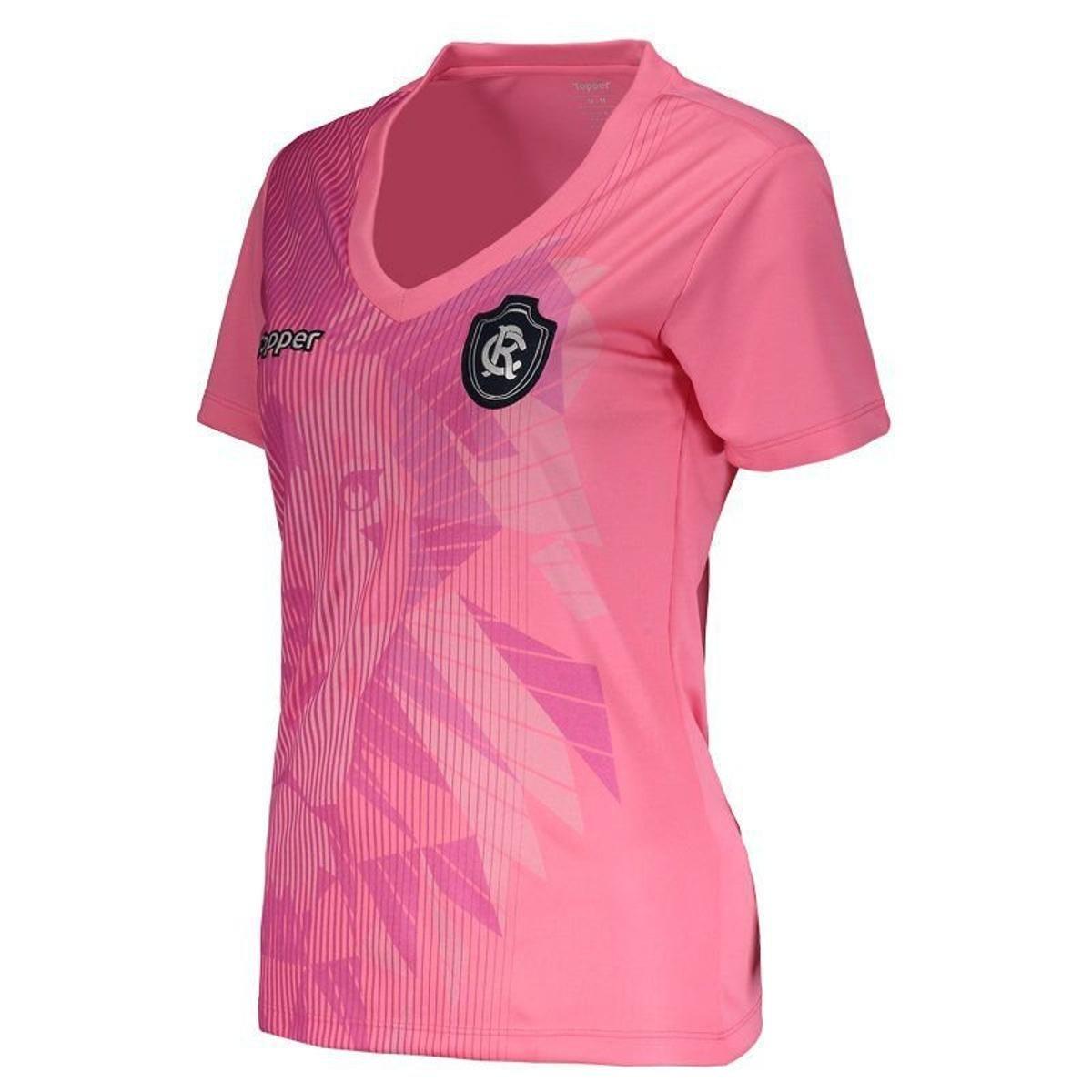 Camisa Topper Remo 2018 Outubro Rosa Feminina - Rosa - Compre Agora ... b8234fa3b3ce7