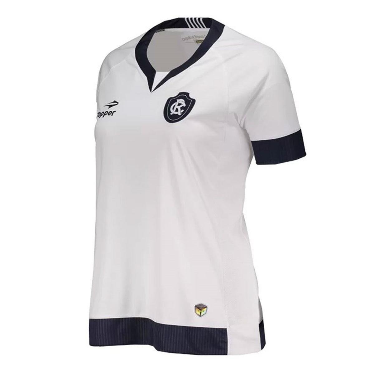 Camisa Topper Remo Away Feminina - Branco - Compre Agora  bb4d551adabda