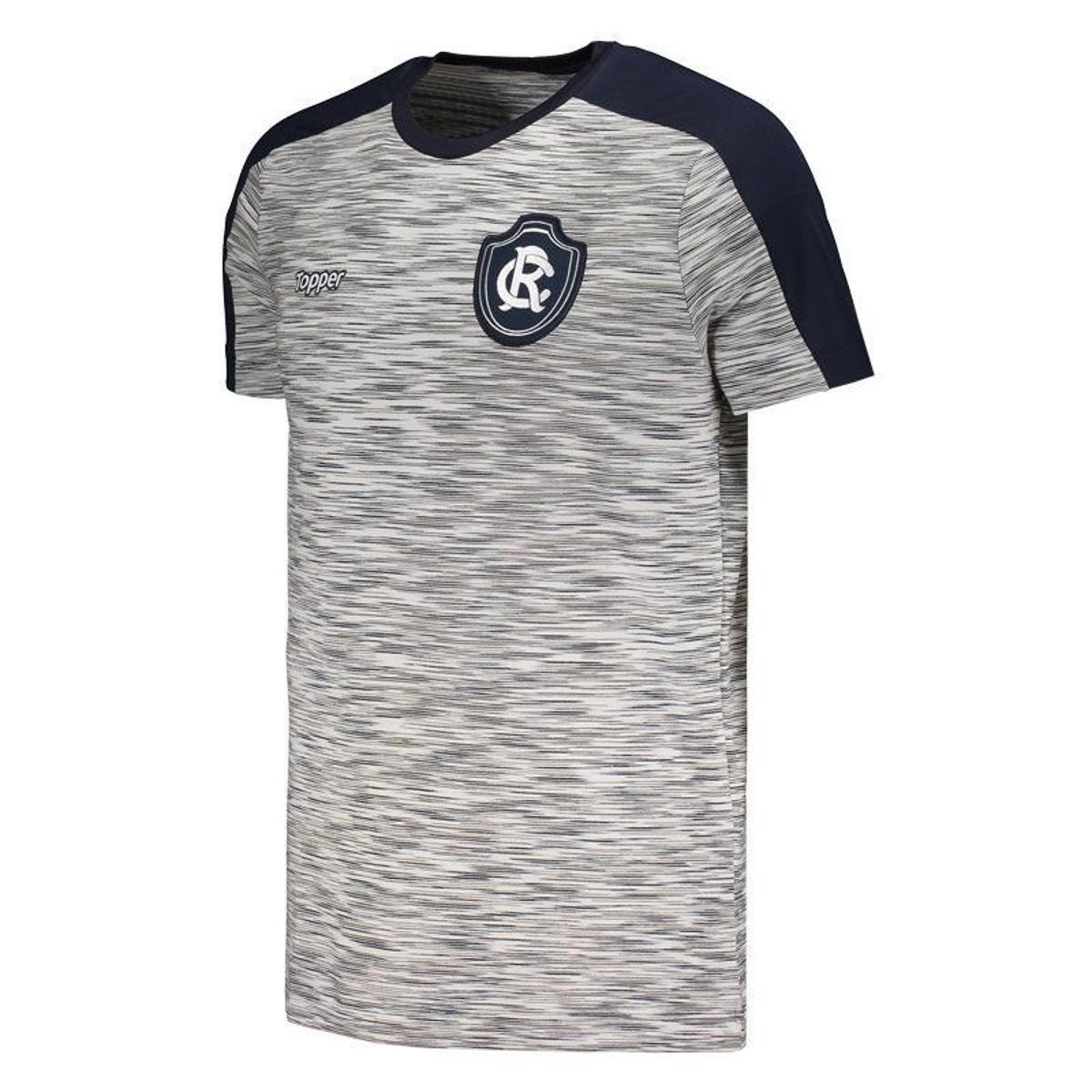 65f996554f ... Camisa Topper Remo Concentração Comissão Técnica 2018 Masculina ...