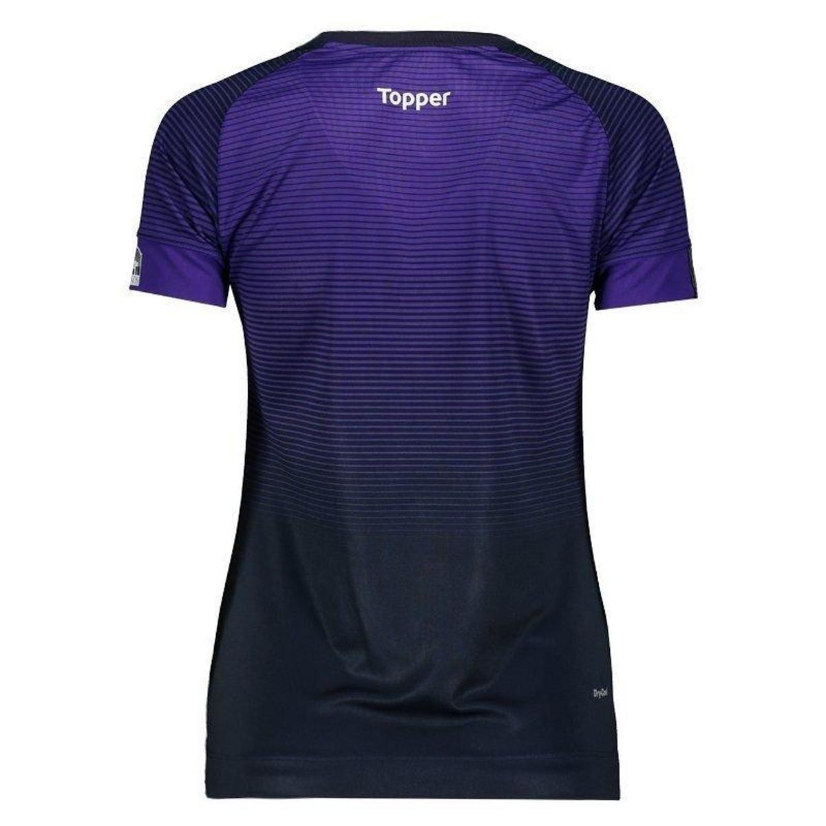 Feminina Roxo 2017 Remo Camisa 2017 Remo Topper III Topper Camisa III nanUxwv