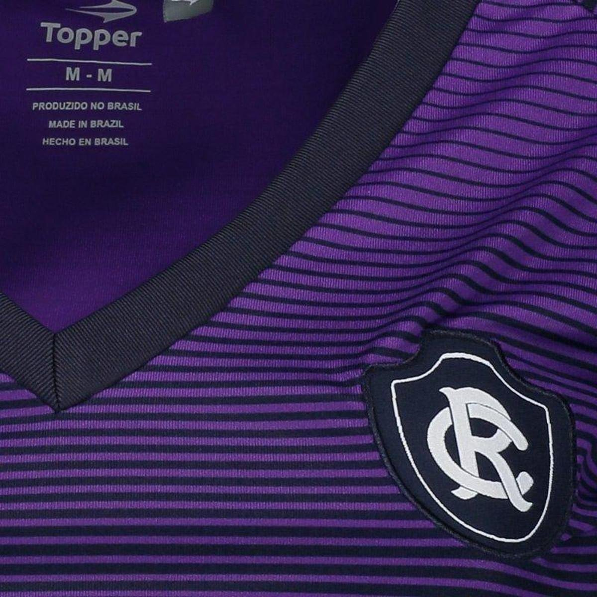 Topper Camisa 2017 Roxo III Camisa Topper Feminina Remo OFwE5q