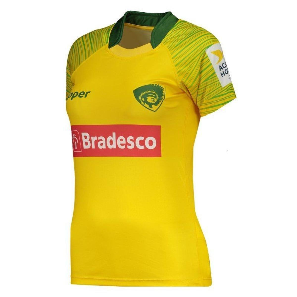 Feminina Home Amarelo 2017 Topper Camisa Rugby Camisa Home Brasil Topper Brasil Rugby 8gwqFv86WP