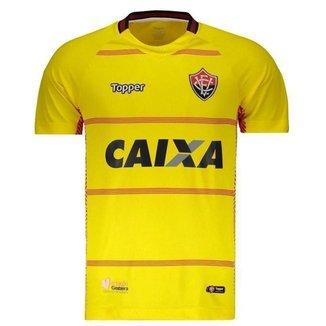 Camisa Topper Vitória I 2018 Goleiro Juvenil