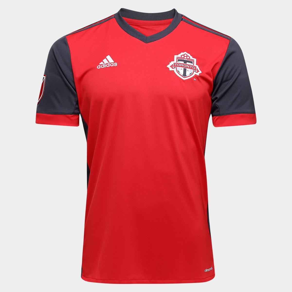 347e3e461a Camisa Toronto MLS Home 17 18 s nº Torcedor Adidas Masculina