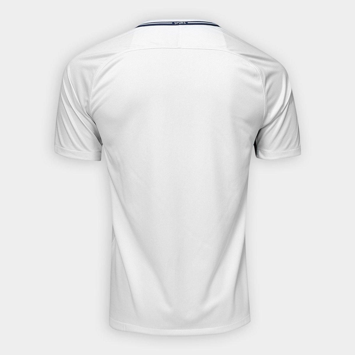 1d62945748 Camisa Tottenham Home 17 18 s n° - Torcedor Nike Masculina - Compre ...