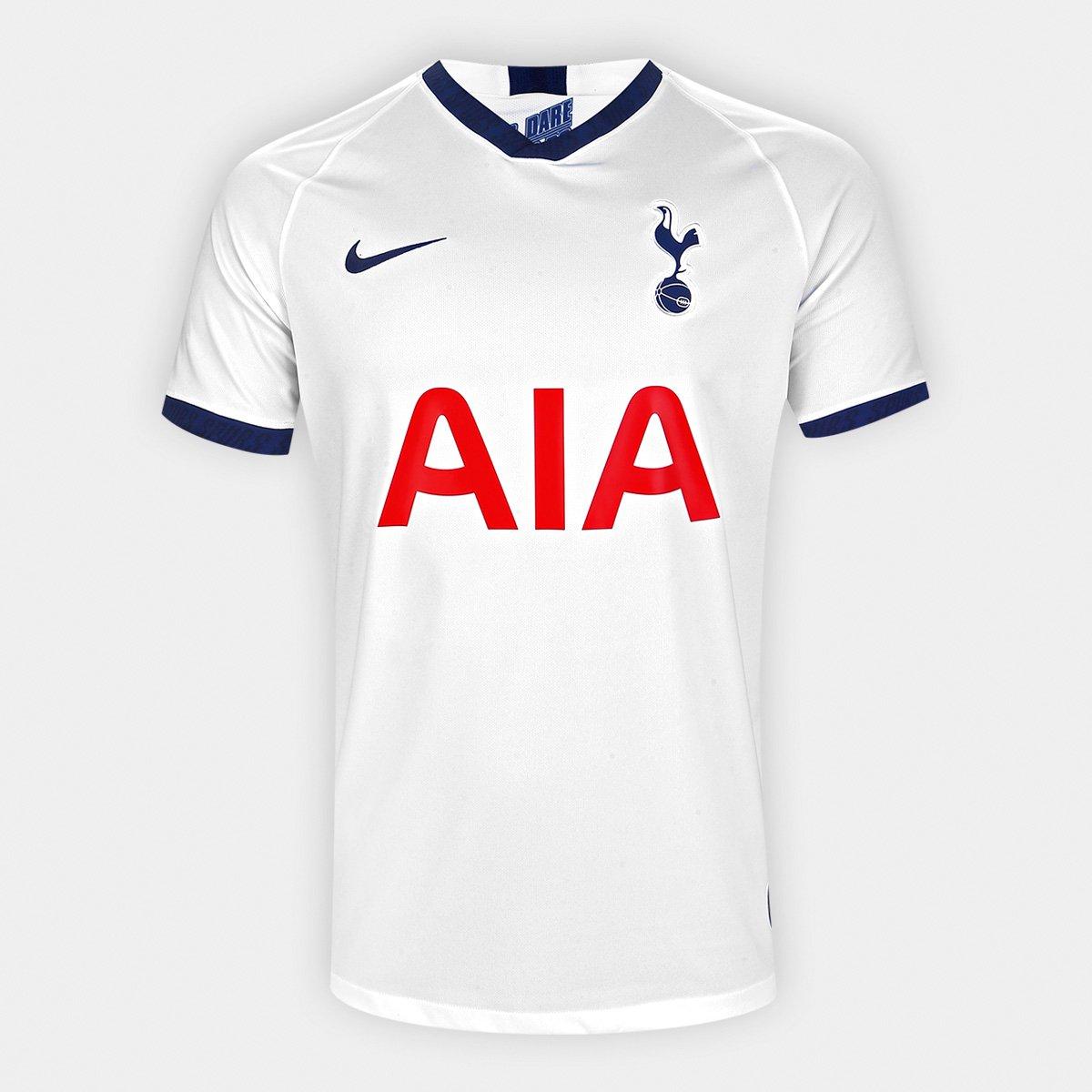 7fc28cc37a Camisa Tottenham Home 19/20 s/nº Torcedor Nike Masculina | Netshoes