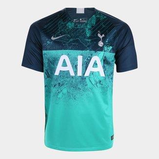 Camisa Tottenham Third 2018 s/n° - Torcedor Nike Masculina