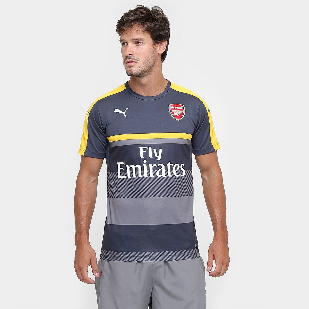26187ba23ec28 Camisa Treino Arsenal - Torcedor Puma Masculina - Compre Agora ...