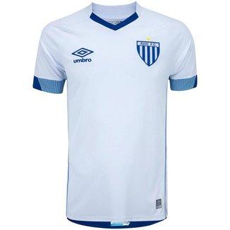 Camisa Umbro Avaí II 2021 Masculina - Branco e Azul