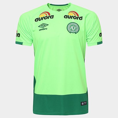 d9c22515ef58d Camisa Umbro Chapecoense Masculina Goleiro 16 17 - Torcedor