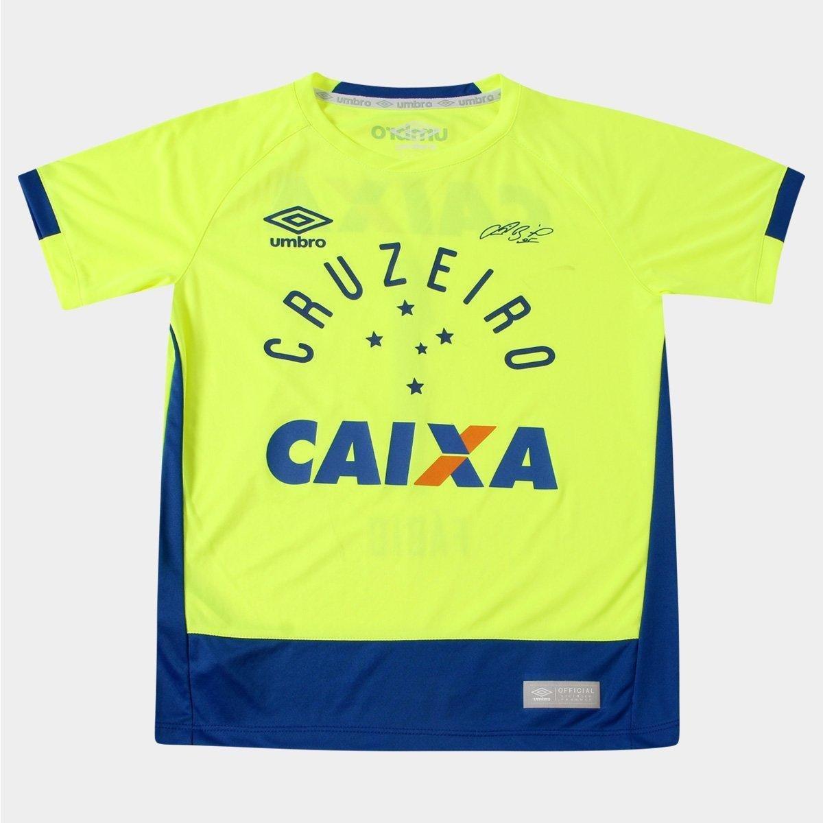 Camisa Umbro Cruzeiro Goleiro 2016 nº 1 - Fábio - Infantil - Compre Agora  ae62816eff518
