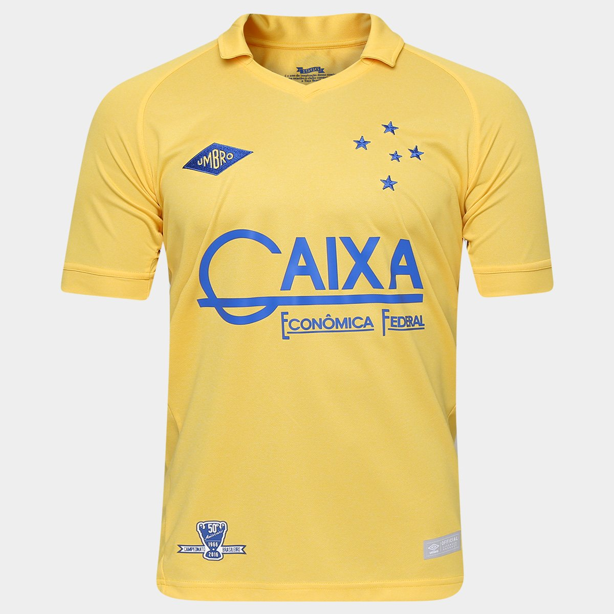 e580a974d3e5a Camisa Umbro Cruzeiro Goleiro III 2016 nº 1 - Torcedor - Compre Agora