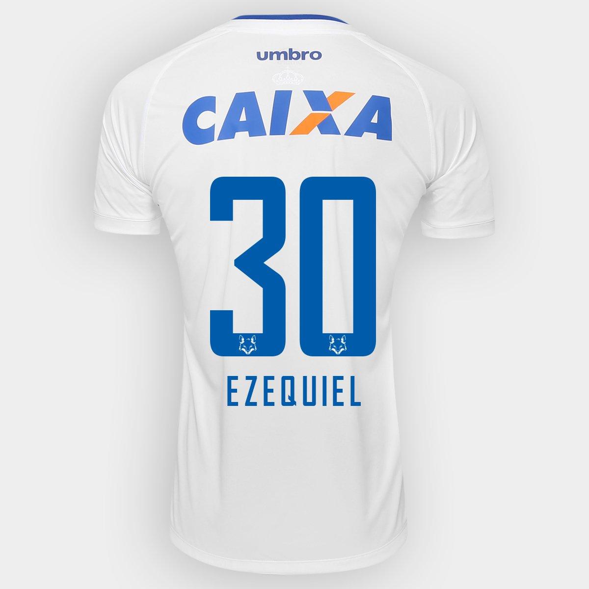 3f5a229891 Camisa Umbro Cruzeiro II 2016 nº 30 - Ezequiel - Compre Agora