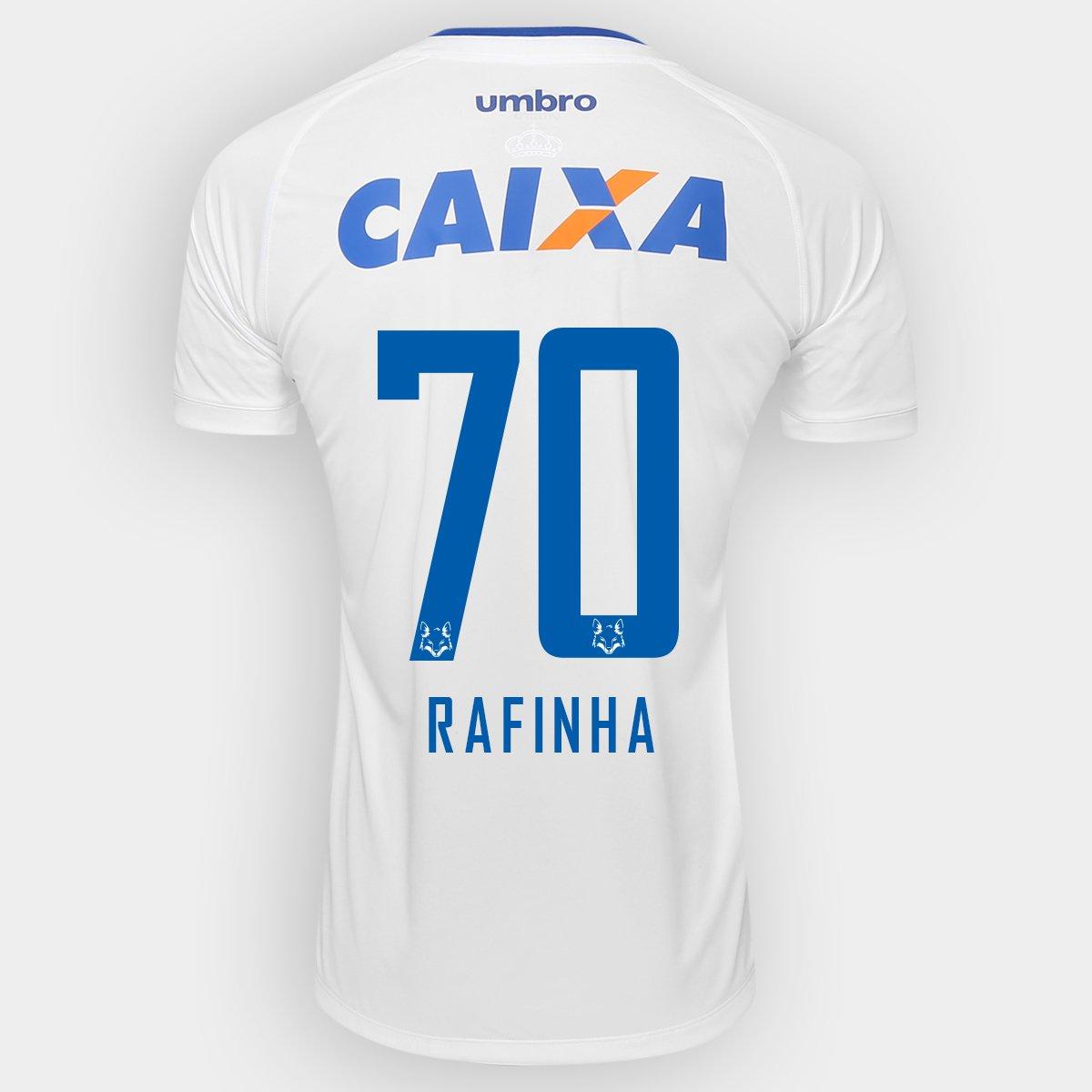 bba9e65c7c Camisa Umbro Cruzeiro II 2016 nº 70 - Rafinha - Compre Agora