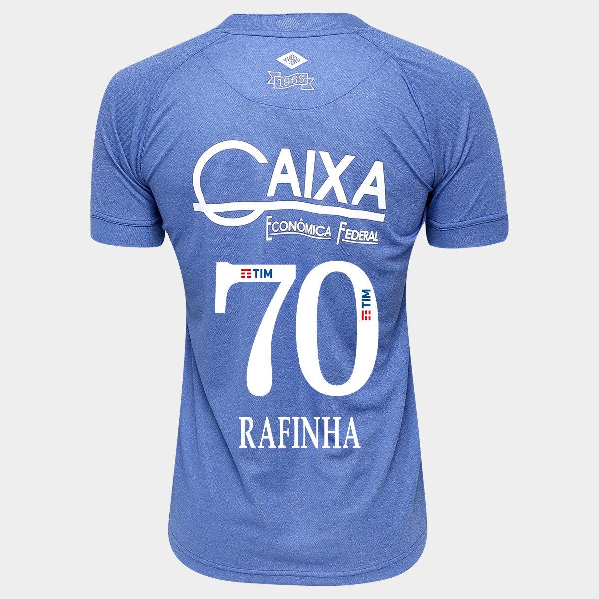 f60df34636 Camisa Umbro Cruzeiro III 2016 nº 70 - Rafinha - Compre Agora