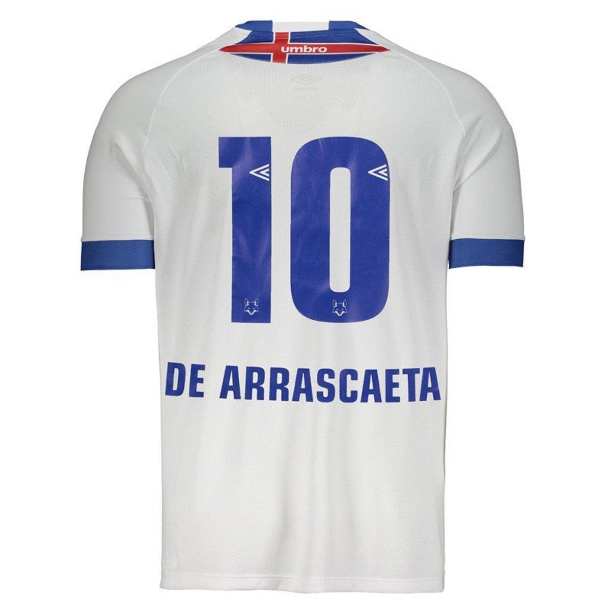 Camisa Umbro Cruzeiro Nº10 De Arrascaeta II 2018 Masculina - Compre Agora  9f233971f87d3