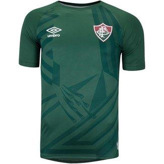 Camisa Umbro Fluminense de goleiro 2021 Masculina - Verde e Preto