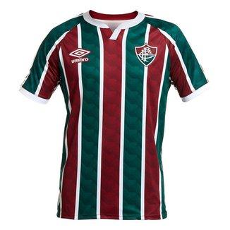 Camisa Umbro Fluminense I 20/21 Masculina - Vinho e Verde