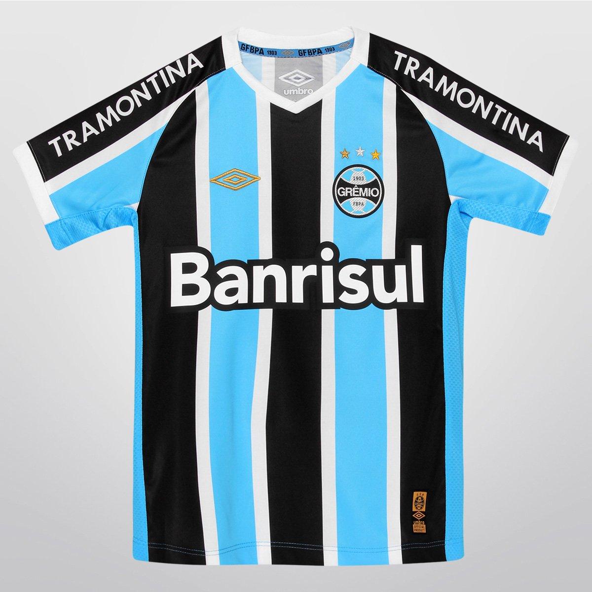 Camisa Umbro Grêmio I 2015 n° 10 Juvenil - Compre Agora  6597089496bed