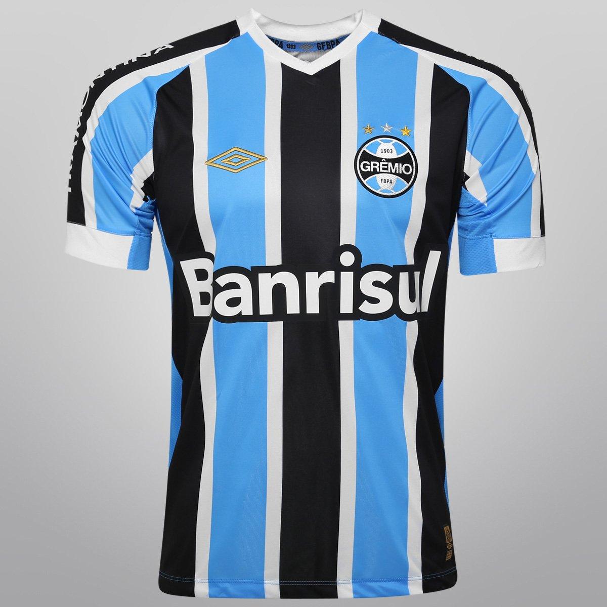 6fb50ce5ddc56 Camisa Umbro Grêmio I 2015 s nº - Compre Agora