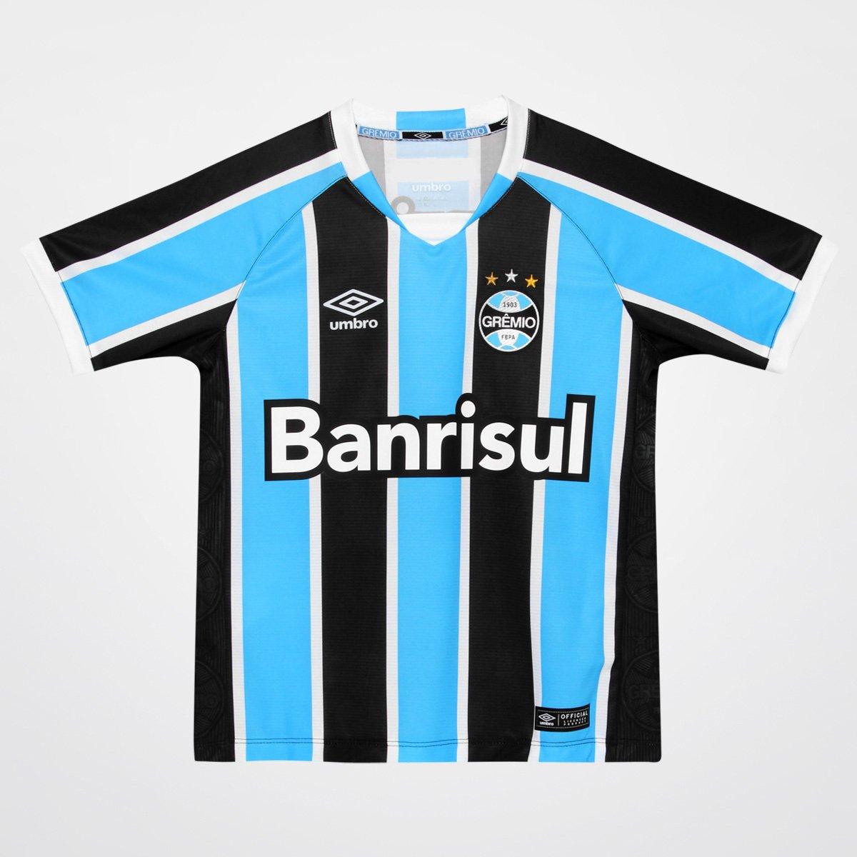 6fd1ff9b6ced7 Camisa Umbro Grêmio I 2016 nº 10 Juvenil - Compre Agora