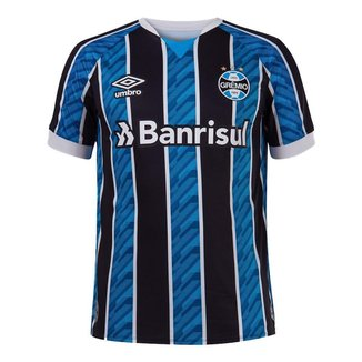 Camisa Umbro Grêmio I 2020 Masculina - Azul e Preto