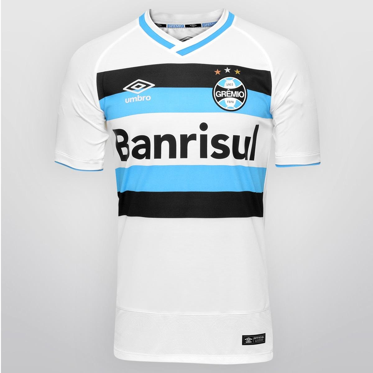 107ed64164 Camisa Umbro Grêmio II 2016 s/nº - Jogador | Netshoes
