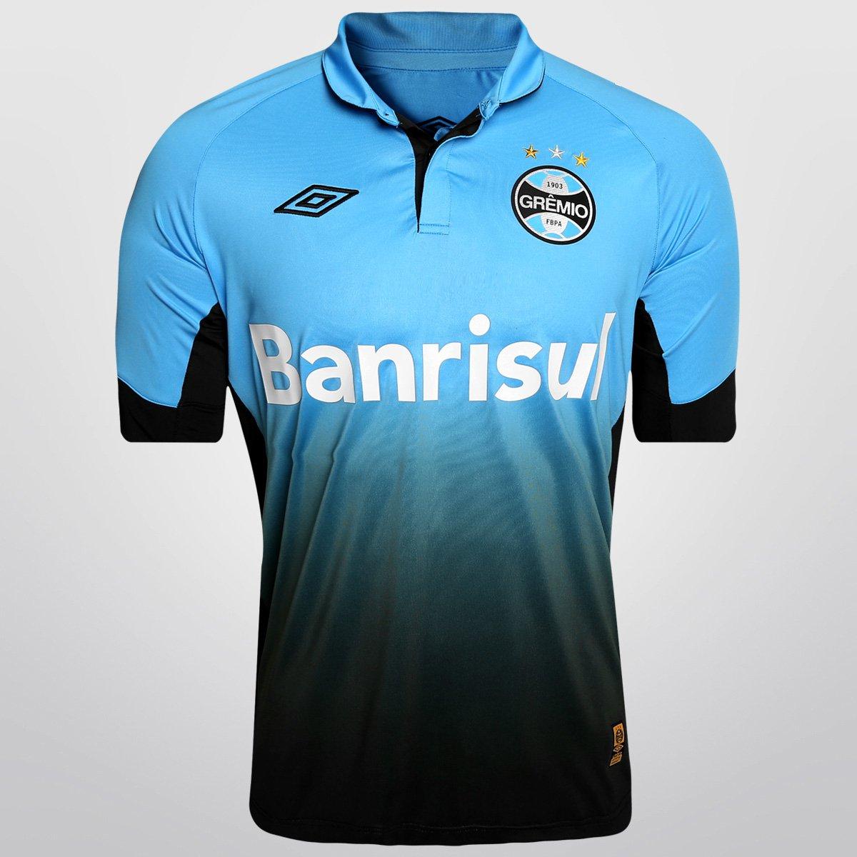 Camisa Umbro Grêmio III 2015 s nº - Compre Agora  a7258d7380192