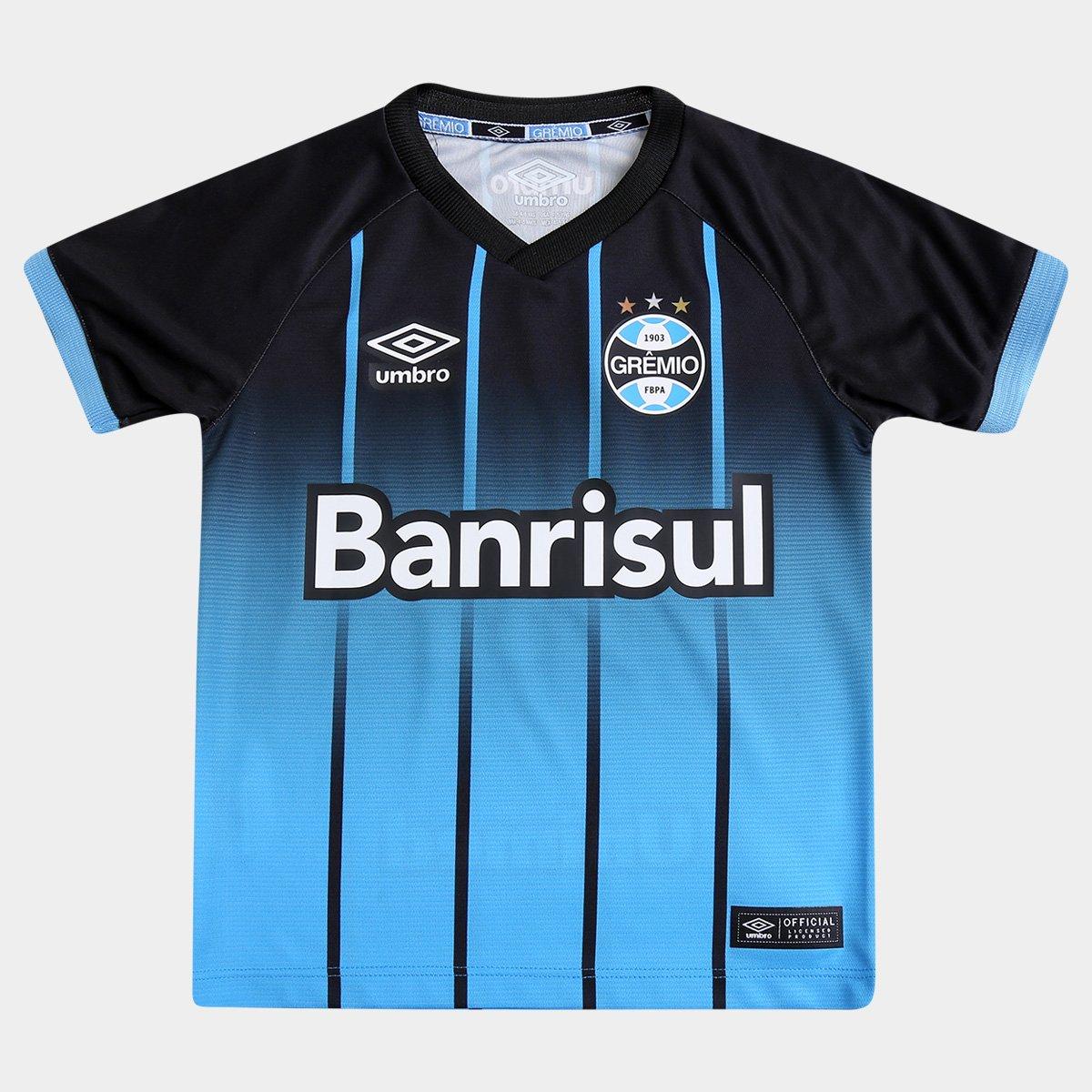 b20921804b Camisa Umbro Grêmio III 2016 s nº Infantil - Compre Agora