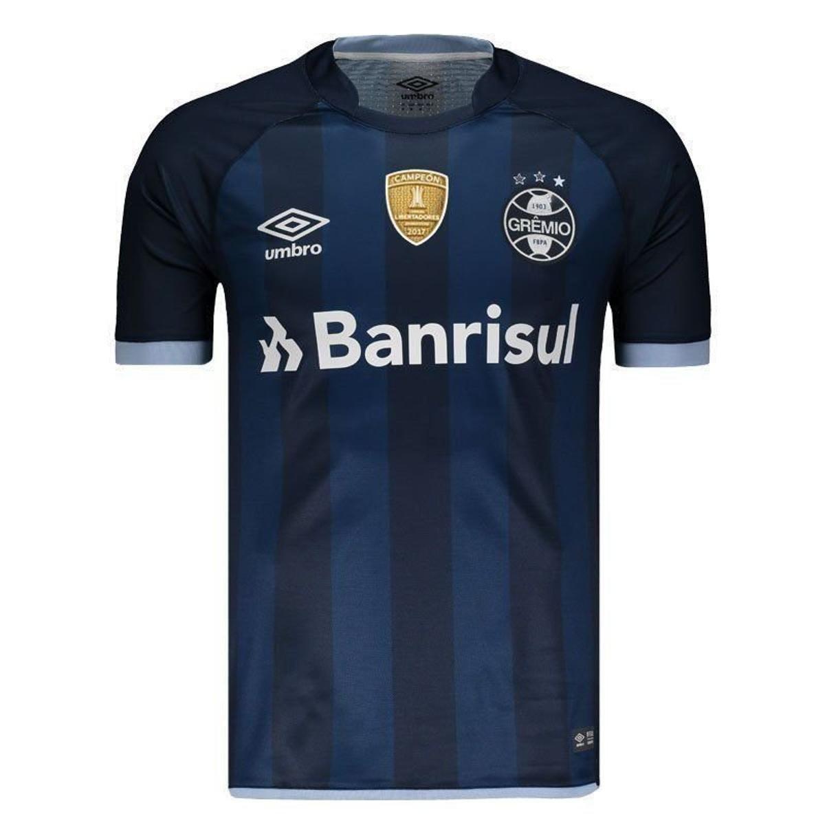 Camisa Umbro Grêmio III 2017 N° 10 Campeão Libertadores Masculina ... 507549a7a51cf