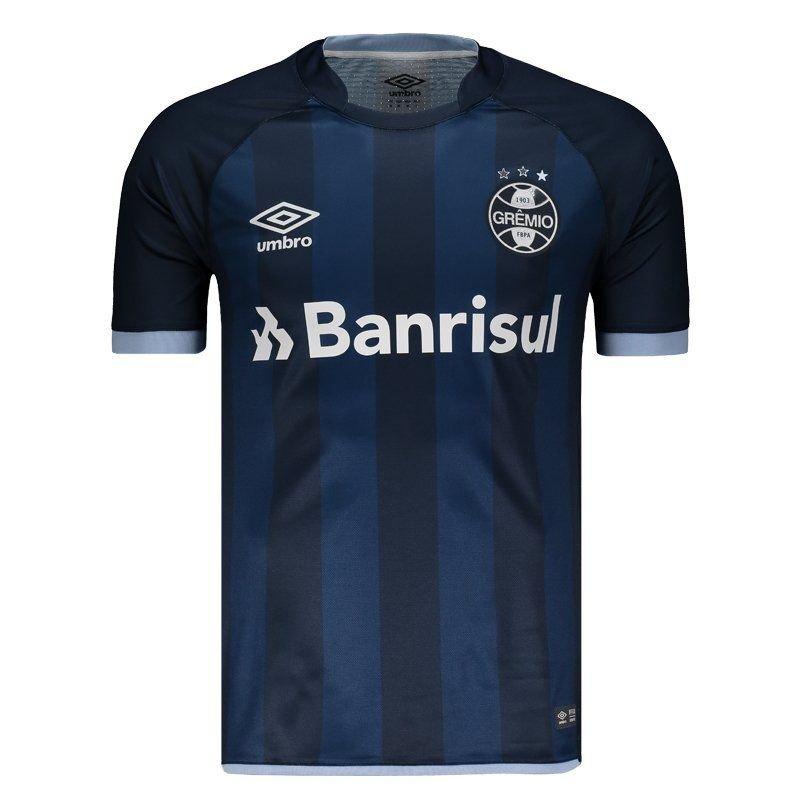 Camisa Umbro Grêmio III 2017 N° 7 - Compre Agora  e2d9de11b156c