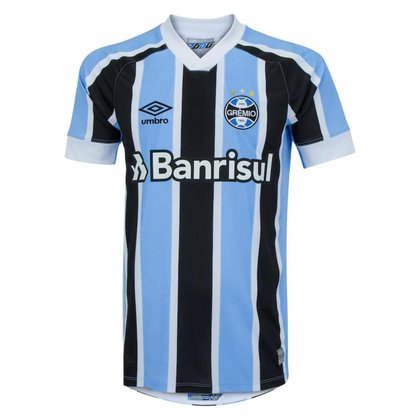 Camisa Umbro Grêmio Oficial I 2021 Masculina