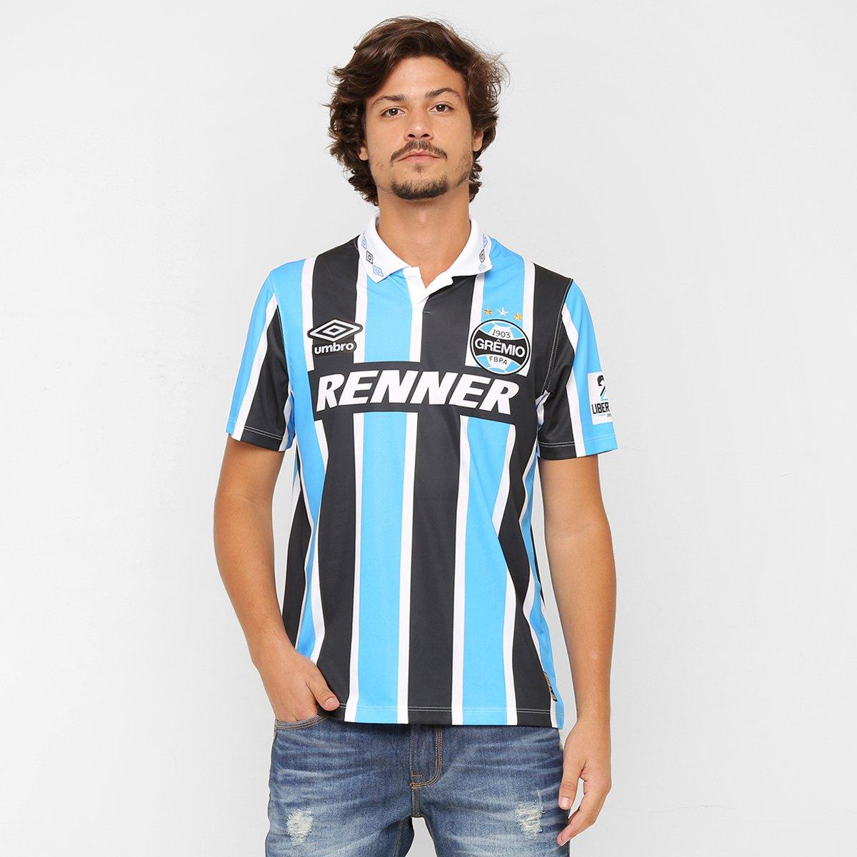 Camisa Umbro Grêmio Retrô 1995 - Bicampeão Libertadores - Compre Agora  e11e84f24a434