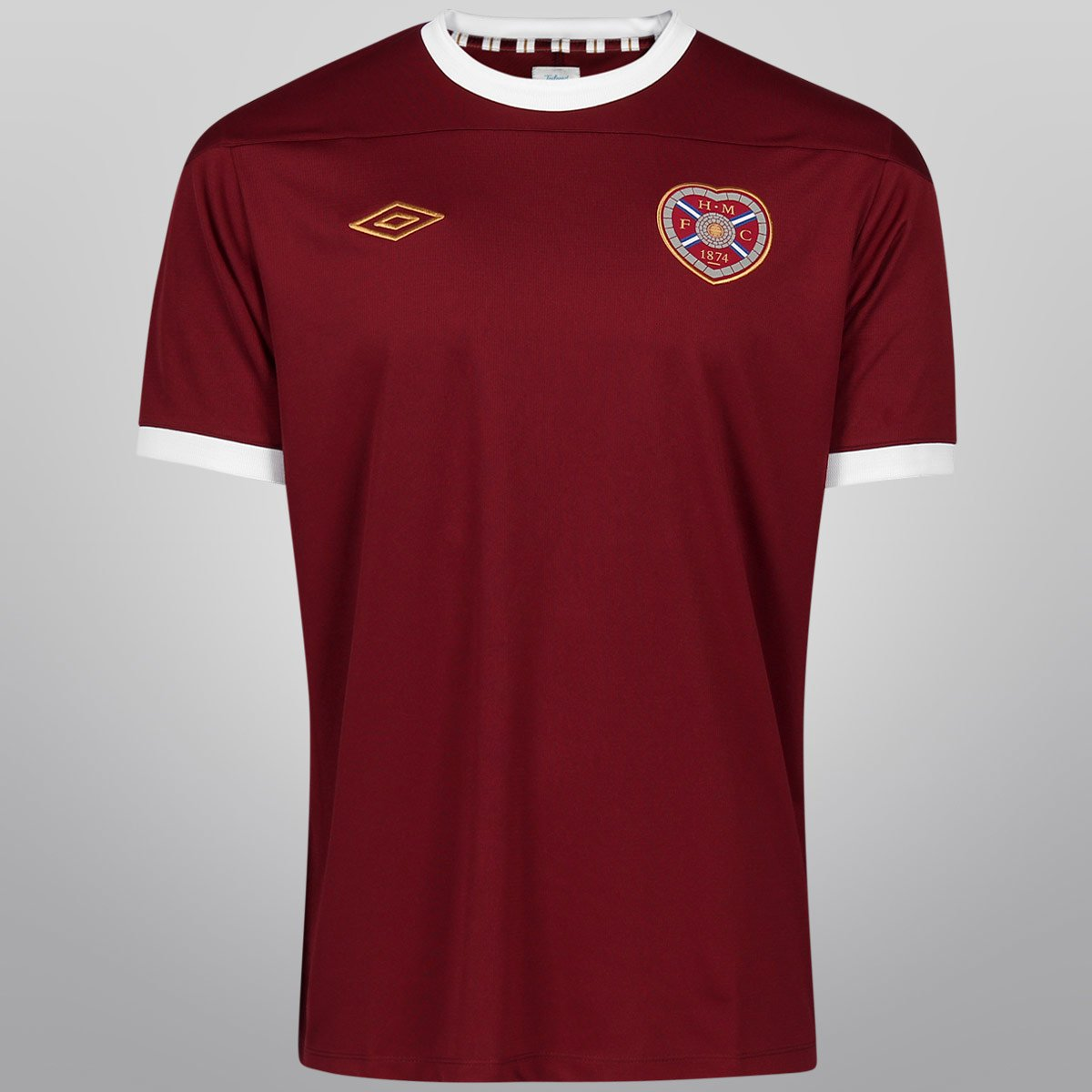 49141526a9 Camisa Umbro Hearts Home 11 12 s n° - Compre Agora