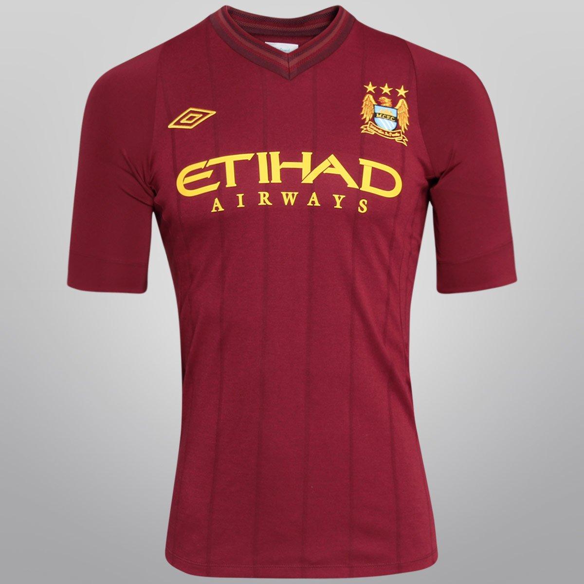 86756bba68 Camisa Umbro Manchester City Away 12 13 s nº - Compre Agora
