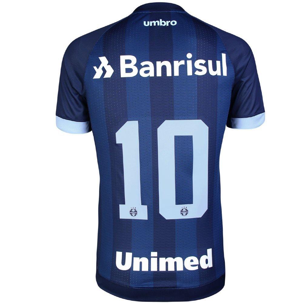 Camisa Umbro Masculina Grêmio III 2017 2018 Torcedor - Marinho e ... 4ef5b3d6d0eed