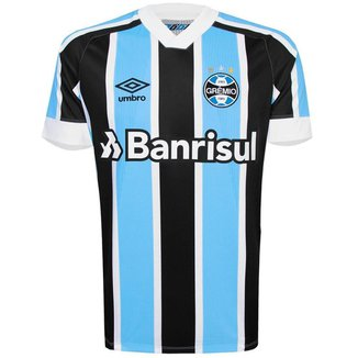 Camisa Umbro Masculina Grêmio Oficial I 2021 Classic Nº10