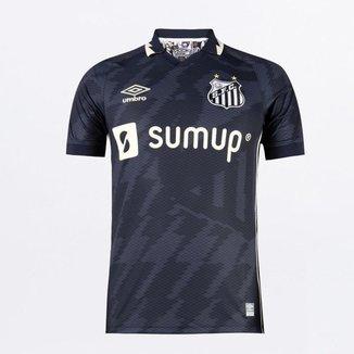 Camisa Umbro Santos III 2021 N°10