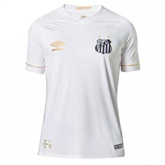 Camisa Umbro Santos OF 1 2018 Junior
