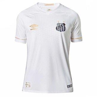Camisa Umbro Santos OF 1 2018 Junior