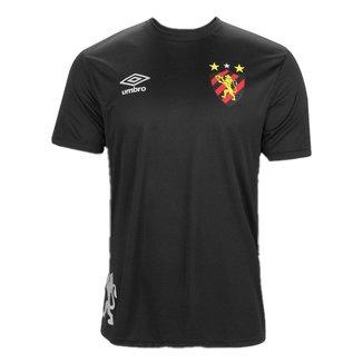 Camisa Umbro Sport Recife Edição Limitada 20/21 Masculina - Preto