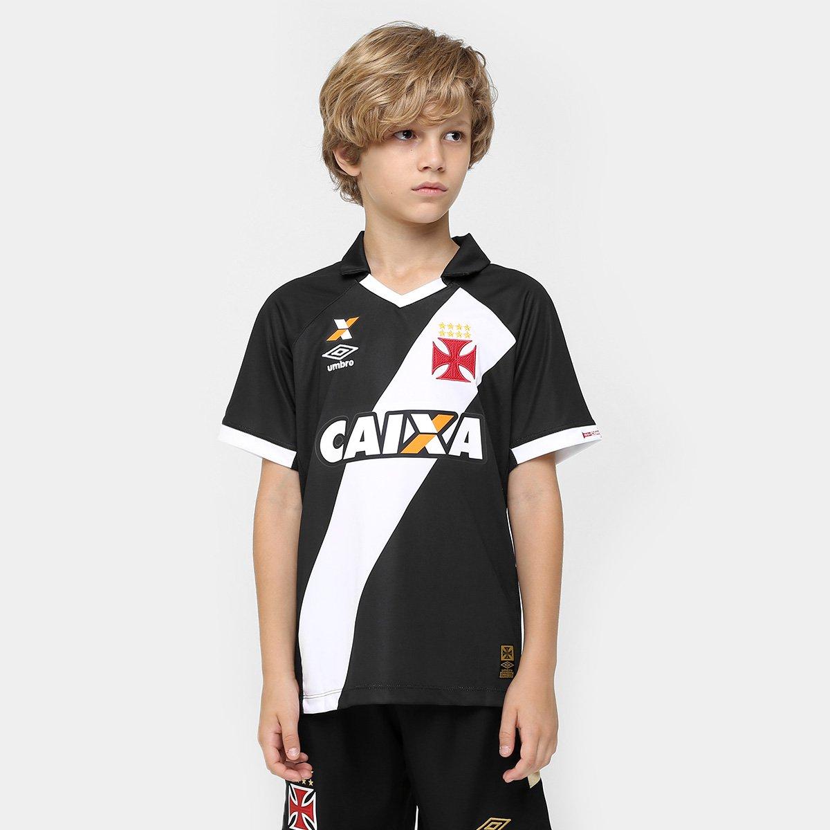 f5c19578ad Camisa Umbro Vasco I 15 16 nº 10 Juvenil - Compre Agora