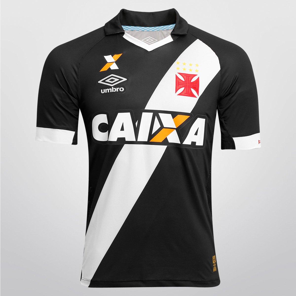 Camisa Umbro Vasco I 15 16 s nº - Jogador - Compre Agora  837cd406ade96
