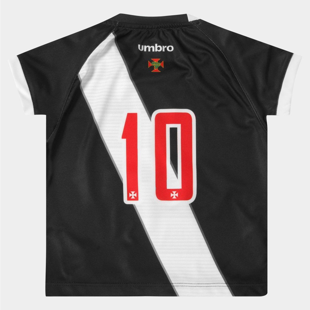 Camisa Umbro Vasco I 16 17 nº 10 Infantil - Compre Agora  0239ed72e1efa