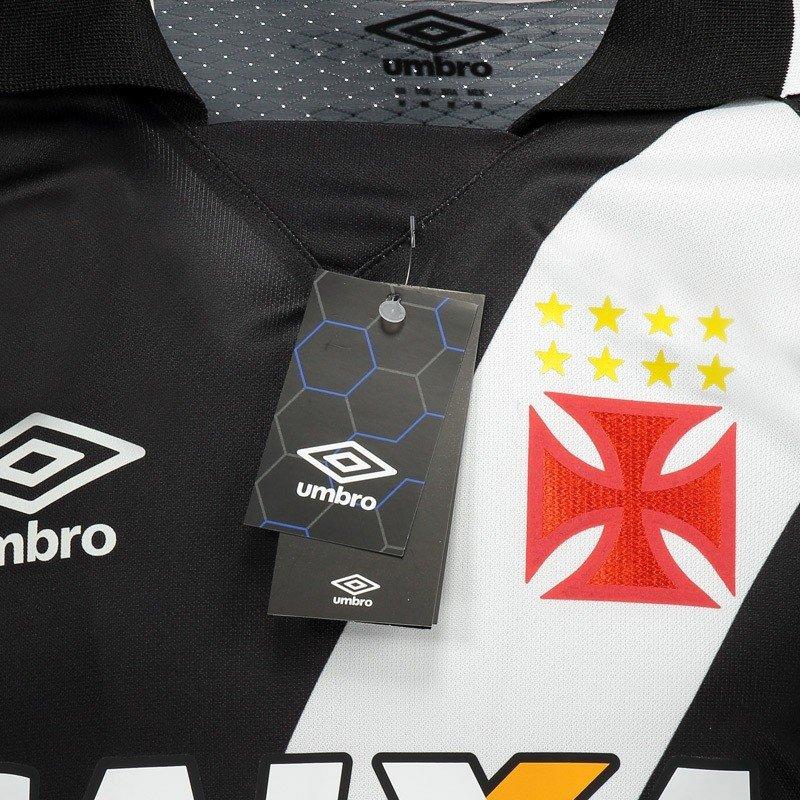 353fc5d6e7 Camisa Umbro Vasco I 2017 Jogador com Patrocínio - Compre Agora ...