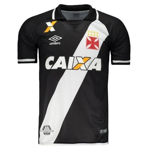 6531226f95 Camisa Umbro Vasco I 2017 - Preto - Compre Agora