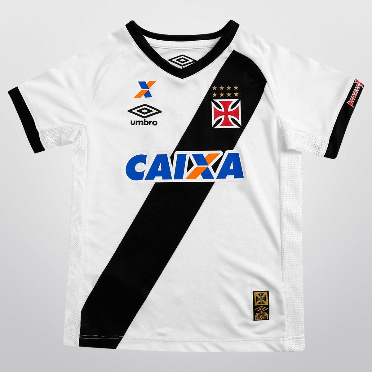 a92ac23d71731 Camisa Umbro Vasco II 15 16 s nº Infantil - Compre Agora