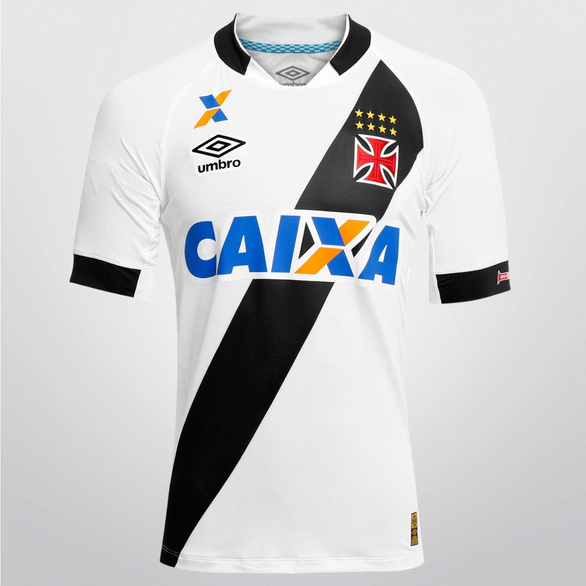 Camisa Umbro Vasco II 15 16 s nº - Jogador - Compre Agora  13634b4df6bb9