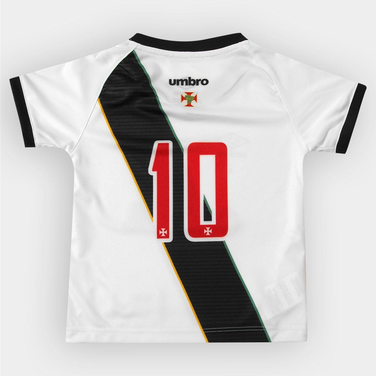 afce81f18a Camisa Umbro Vasco II 16 17 nº 10 Infantil - Compre Agora